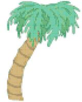 Online Crochet Patterns | Palm Tree Crochet Patterns